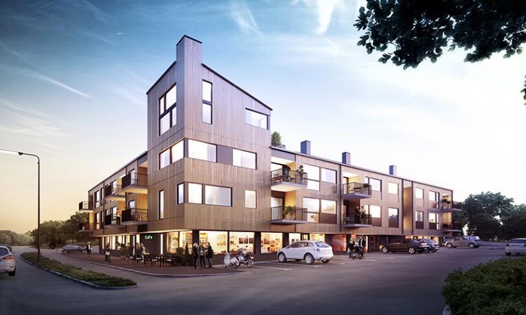 3d visualisering av bostadsrätt