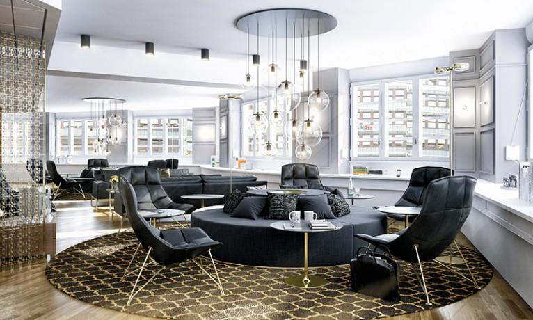3d visualisering kontor i Stockholm