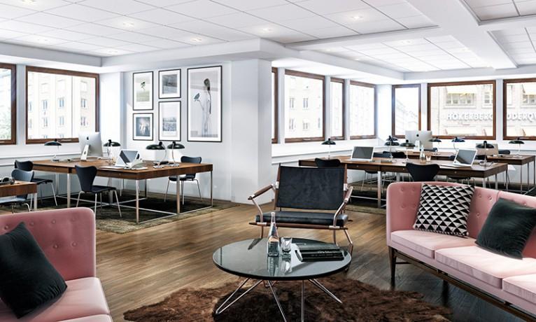 3d visualisering kontor Göteborg