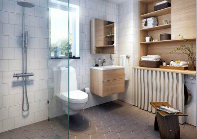 3d Visualisering av badrum