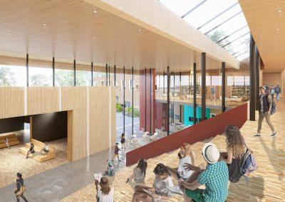 arkitekturvisualisering-interior-skola-trappor