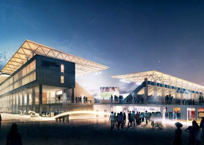 arkitekturvisualisering-stadium-exterior