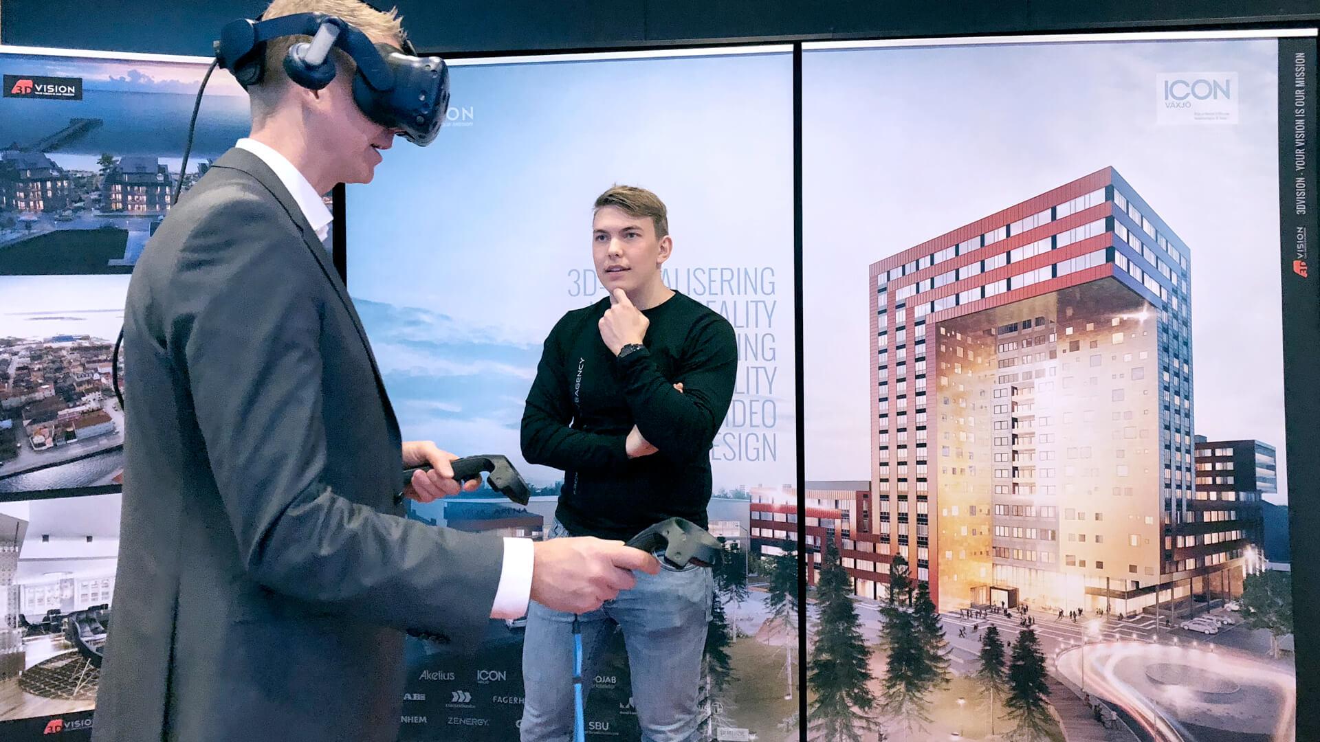 Virtuell verklighet blev snackis
