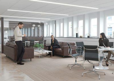3d visualisering kontor