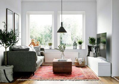 3d visualisering vardagsrum