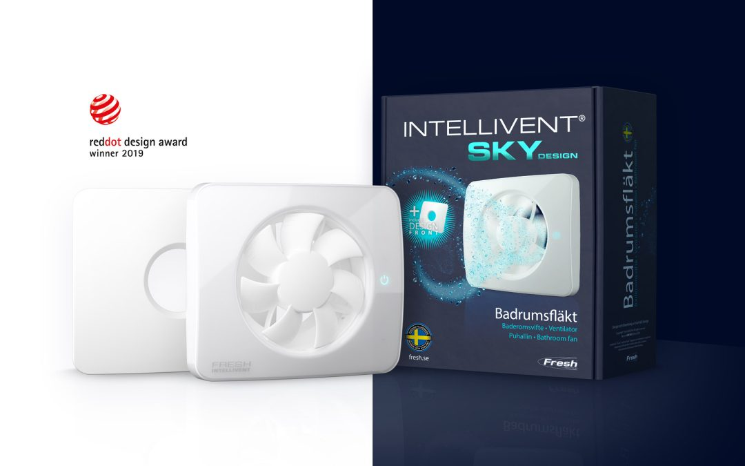 Intellivent SKY vinner Red Dot Award